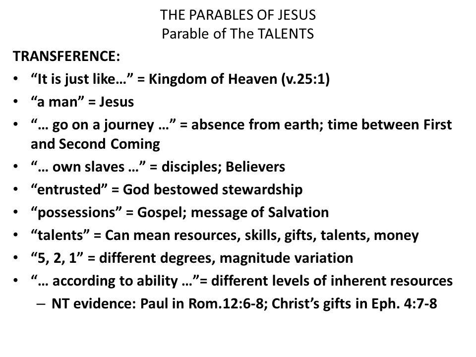 the parables of jesus christ pdf
