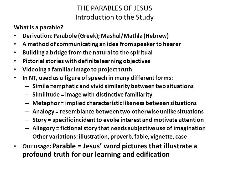 An analysis of the characters in the parable of the doorkeeper