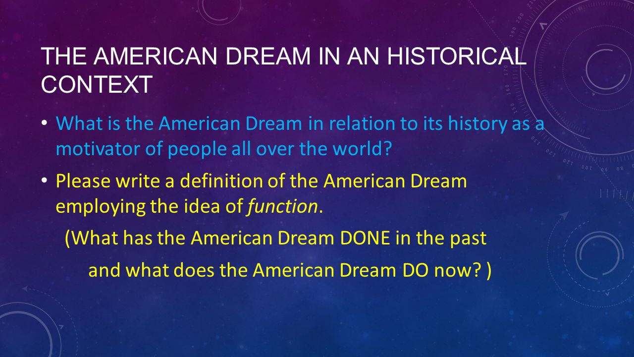the vanishing american historical context essay Us history in context the creation of an american history has been of paramount importance in the essay entitled one family's history, a family.