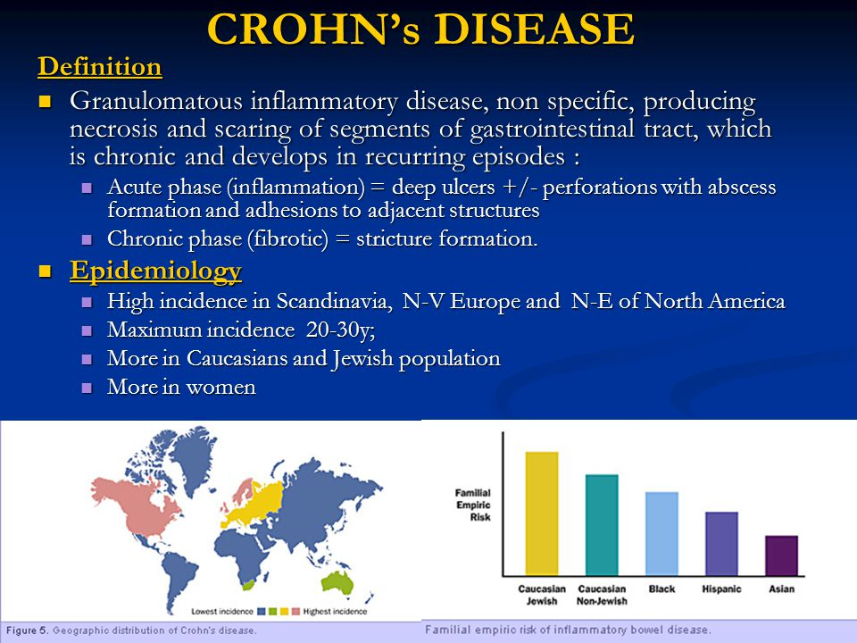 CROHNu0027s DISEASE Definition