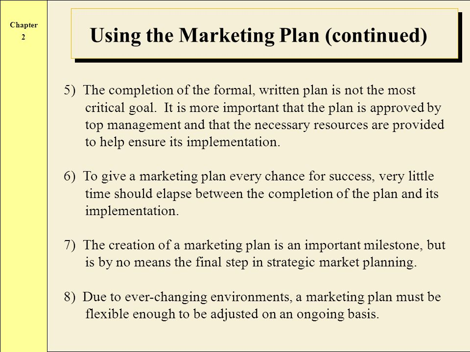 importance of marketing implementation Functional tactics & implementation by erica olsen strategy additional marketing insights will results that can be opportunistically integrated into the marketing plan as full marketing plan implementation is pursued the financial metrics generated from a successful roll-out signal long-run profit potential and can be used to help fund the full.