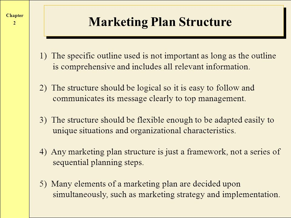 Developing The Marketing Plan  Ppt Video Online Download