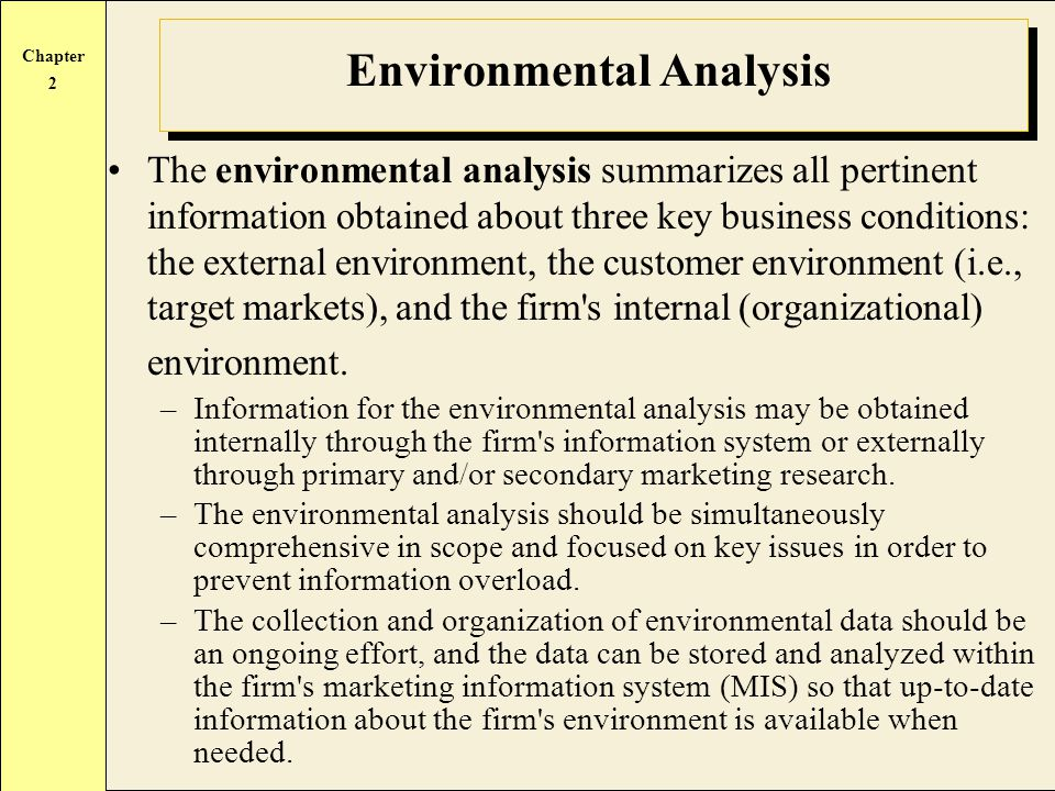 marketing environmental analysis Go beyond swot analysis by learning how to conduct a tows analysis, using a tows matrix, to make the most of the opportunities available to you.