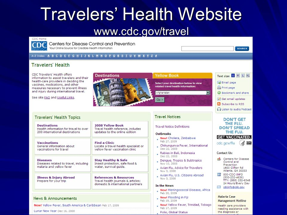 Centers for Disease Control and Prevention  CDC Works 247