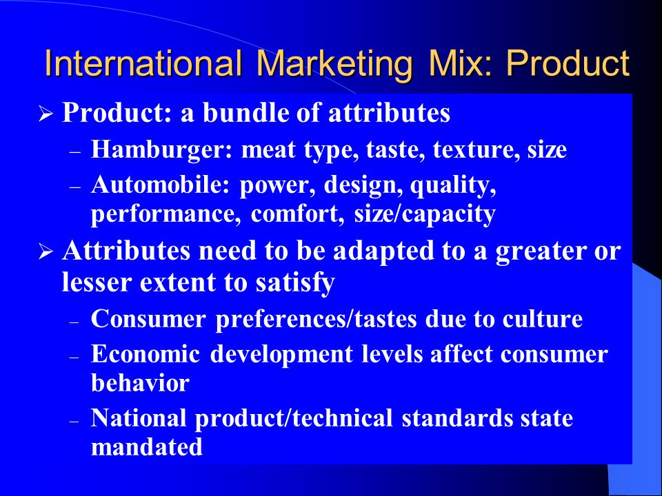 international promotion strategies the push pull mix Price-promotion strategies   based on whether price and promotion are high or low prices are 'pull' based and affect market  promotion adds push to.