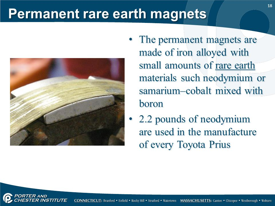 Permanent rare earth magnets