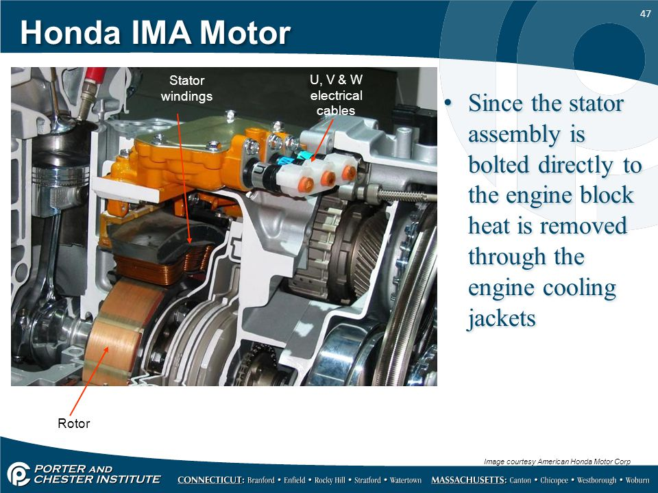 Honda+IMA+Motor+Stator+windings.+U%2C+V+%26+W+electrical+cables. electric motors for electric cars and hybrids ppt video online Honda 50 Wiring Diagram at n-0.co