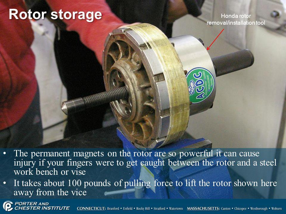 Honda rotor removal/installation tool