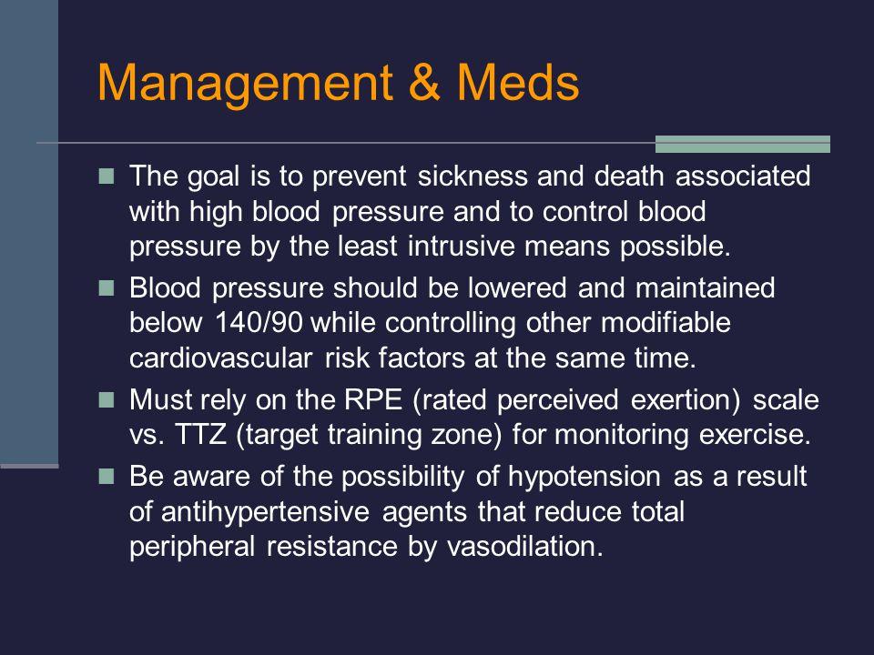 Management & Meds