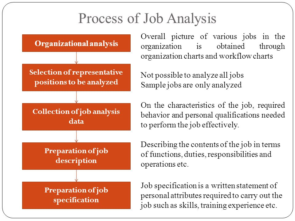 job analysis is described as a basic hrm activity Lesson-14 staffing-- hrm process, recruitment and selection learning objectives all the subsequent stages in selection will depend on the quality of the job analysis.