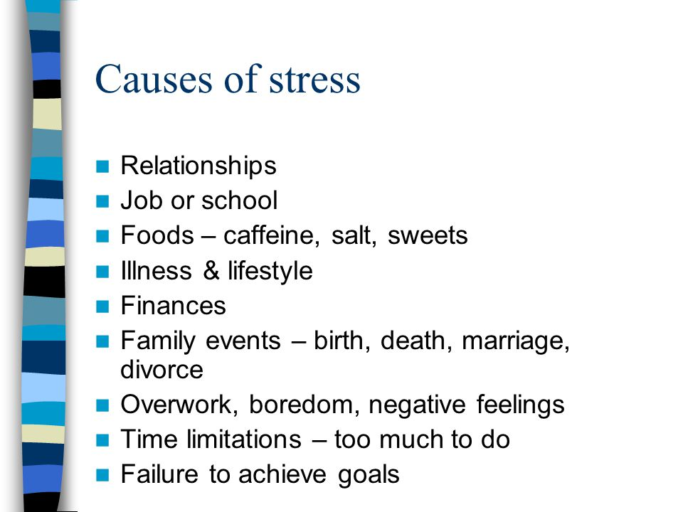 Dating too stressful