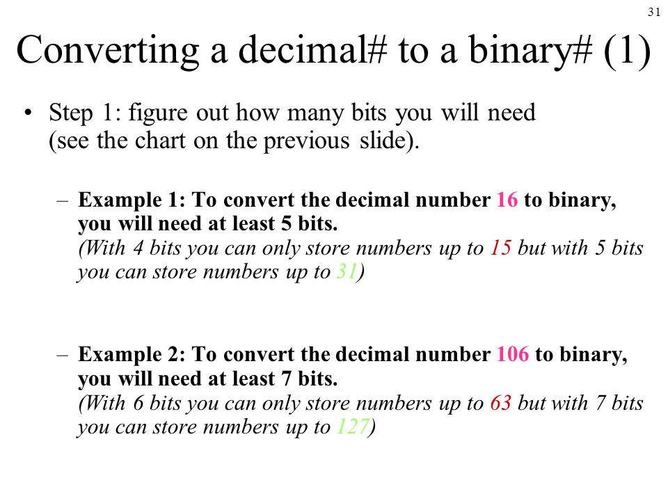 how to tell how many bits are in a number