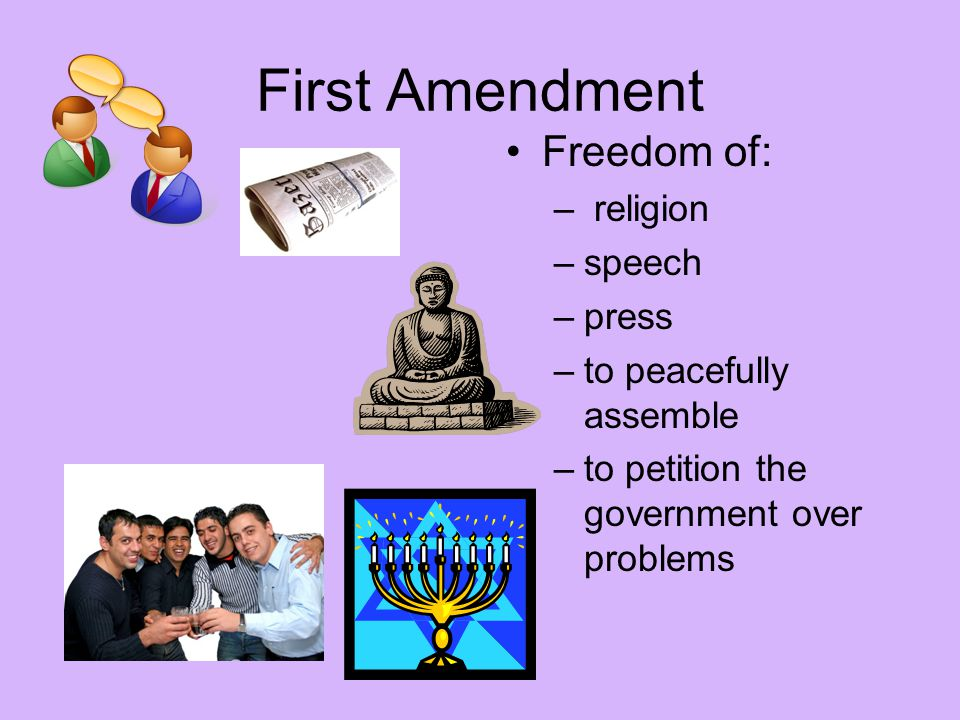 "freedom of speech in a religious However, an important additional protection for religious rights can be found in  the first amendment's free speech clause, which reads: ""congress shall make no ."