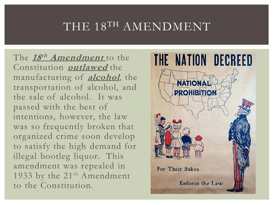 the 18th amendment of the constitution The 18th constitutional amendment: glue or solvent for nation building and citizenship in pakistan anwar shah abstract the almost unanimous passage of a landmark consensus constitutional amendment—the 18th constitutional amendment—restored pakistan's constitution to its original intent of a decentralized.