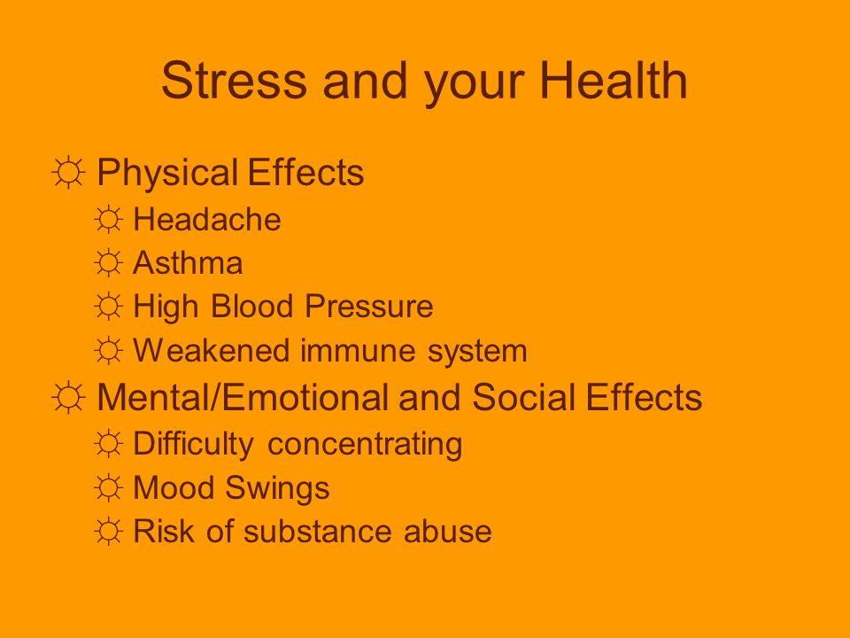 stress physical and mental effects stress Stress symptoms — learn how stress can affect your health so that you can   also, if you have chest pain, especially if it occurs during physical.