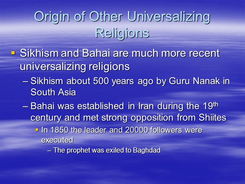 Religion Chapter ppt download