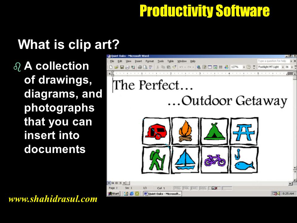 Productivity Software