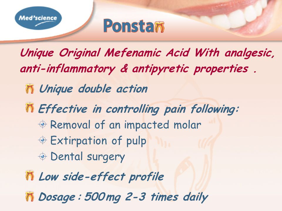 Common Side Effects Of Mefenamic Acid