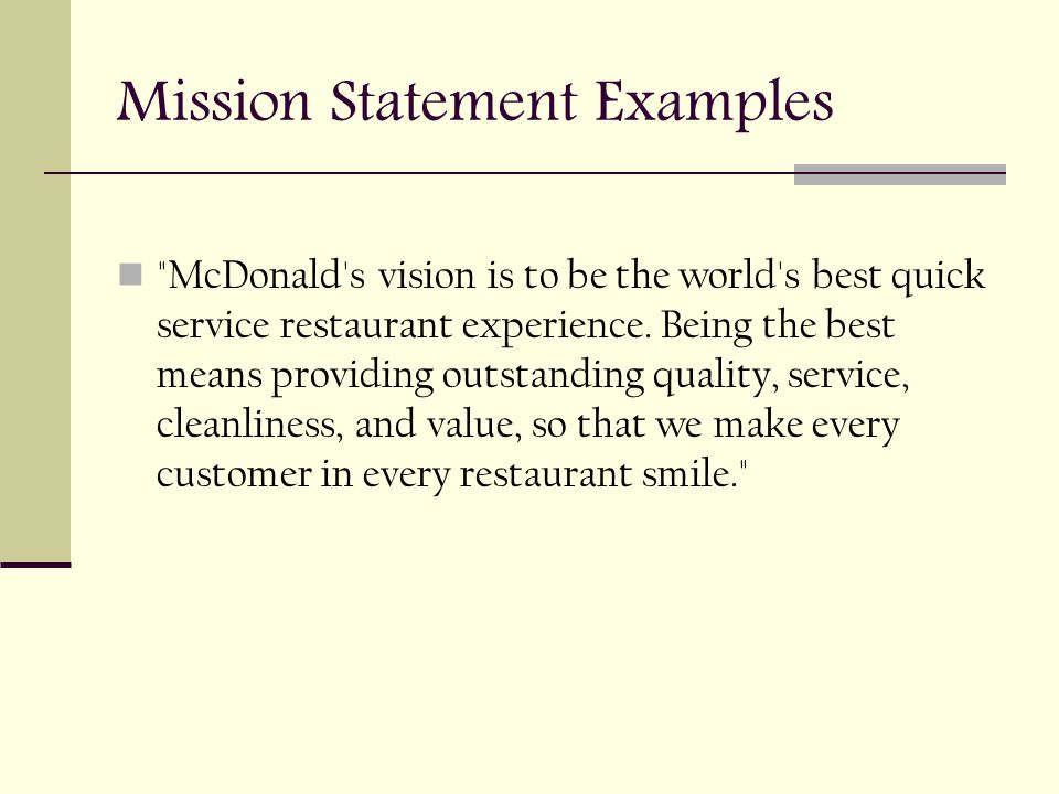 mission statements bdi3c ppt