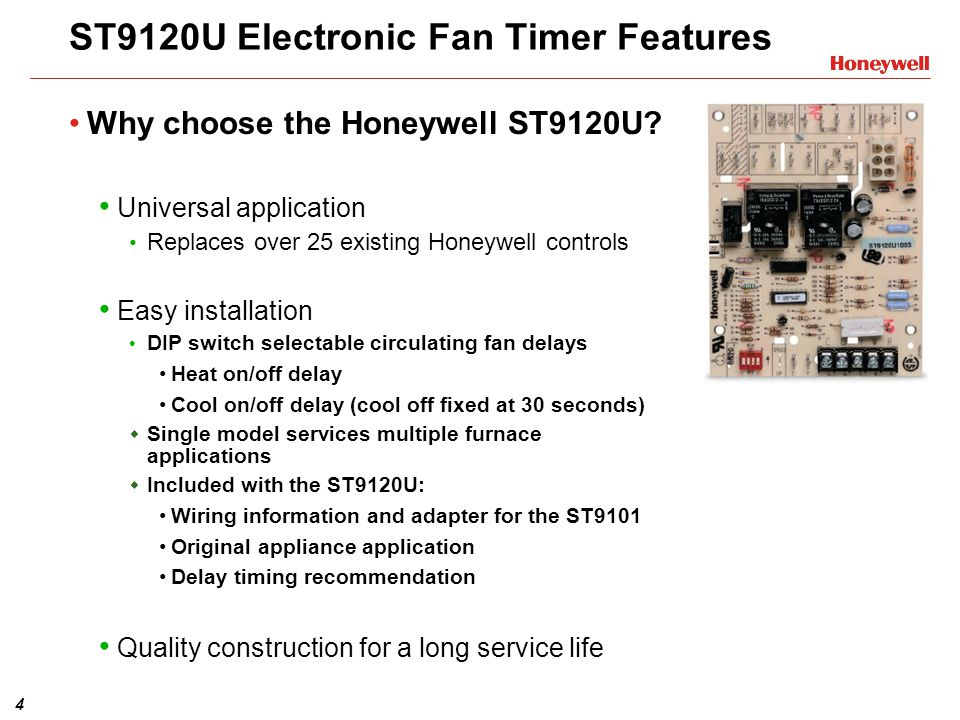 ST9120U+Electronic+Fan+Timer+Features st9120u1003 universal electronic fan timer training module ppt honeywell st9120c4057 wiring diagram at gsmportal.co