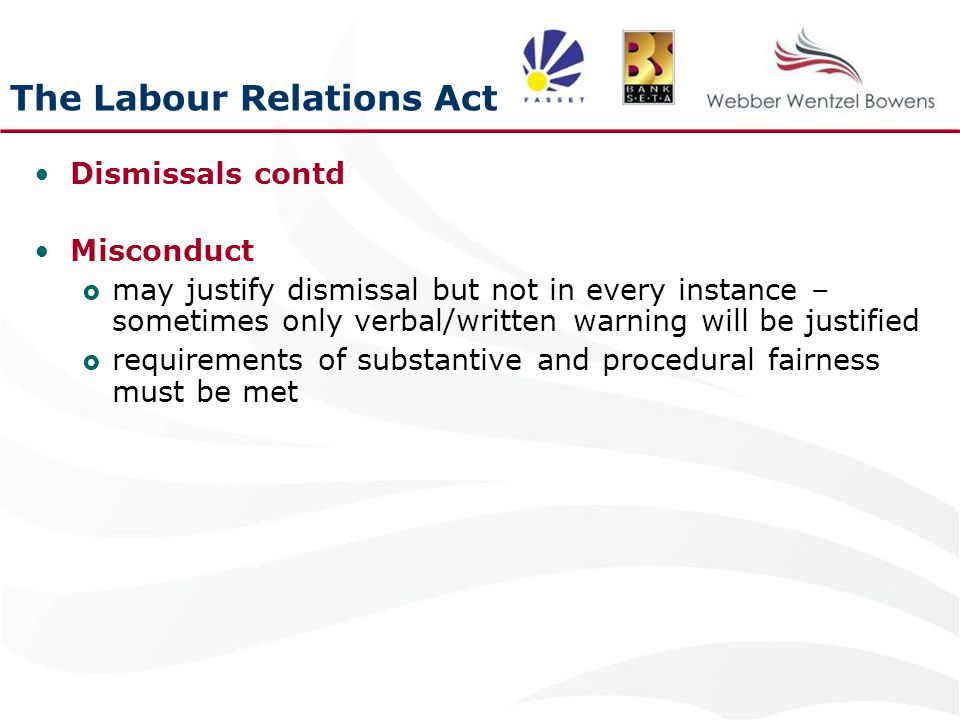 the labour relations act 1996 a An act to promote sound labour relations through the protection and  this act  may be cited as the labour relations act , 1996, and shall.