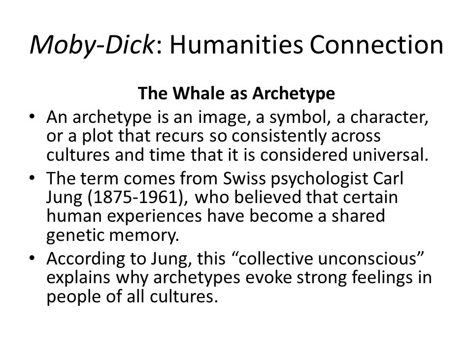 Meaning of moby dick