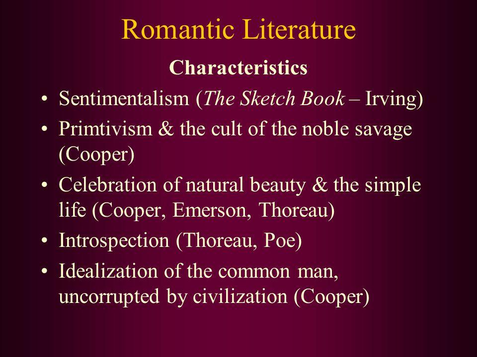 characteristics of american literature pdf