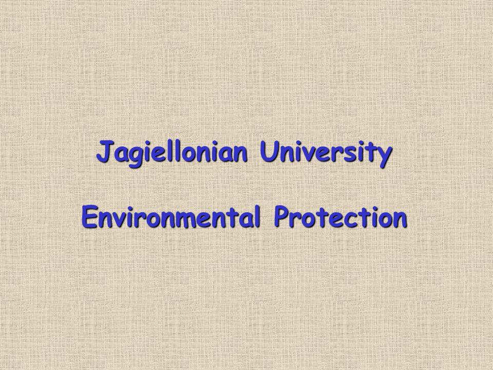 Jagiellonian University Environmental Protection