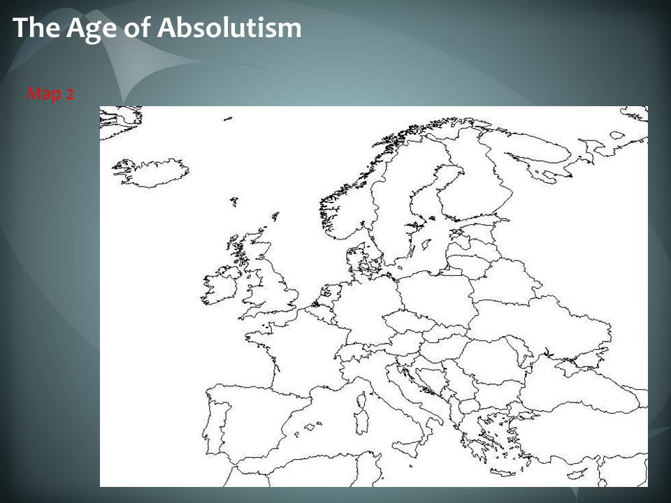 The Age of Absolutism Map 2