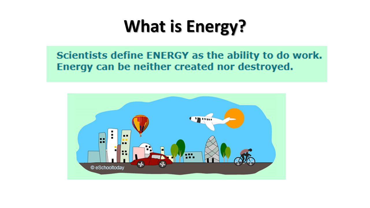 What is Energy background