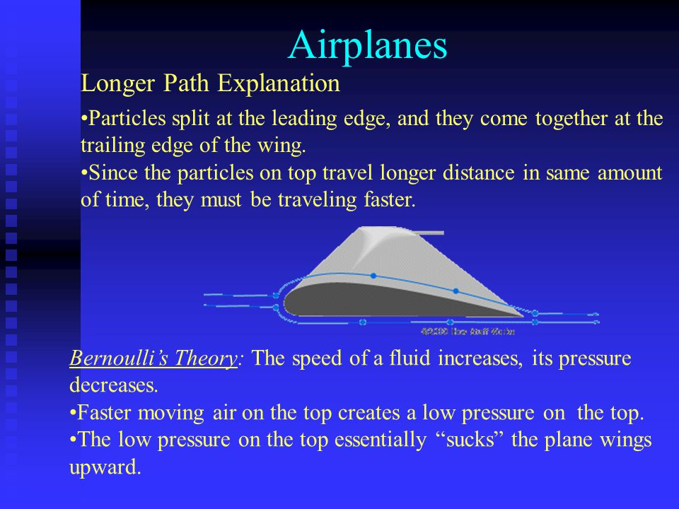 Airplanes Longer Path Explanation