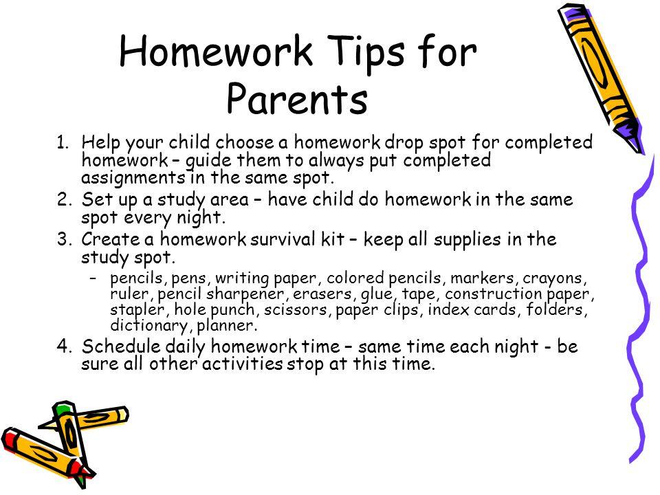 Helping child math homework