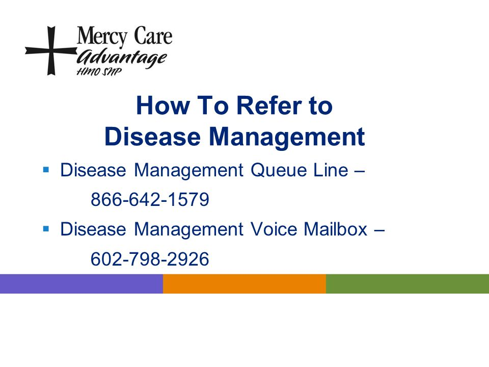 How To Refer to Disease Management