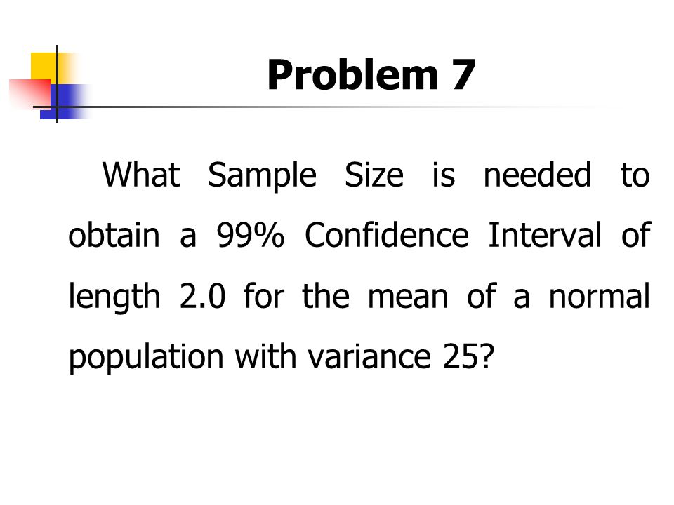 how to find confidence interval of 99