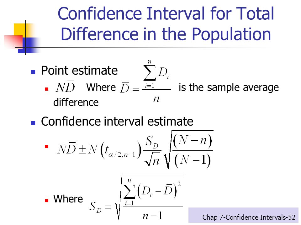 module 4 sampling confidence interval estimation 36 sampling distributions and confidence intervals while discussing the clt, we introduced the idea of repeatedly sampling a population, each time calculating a.