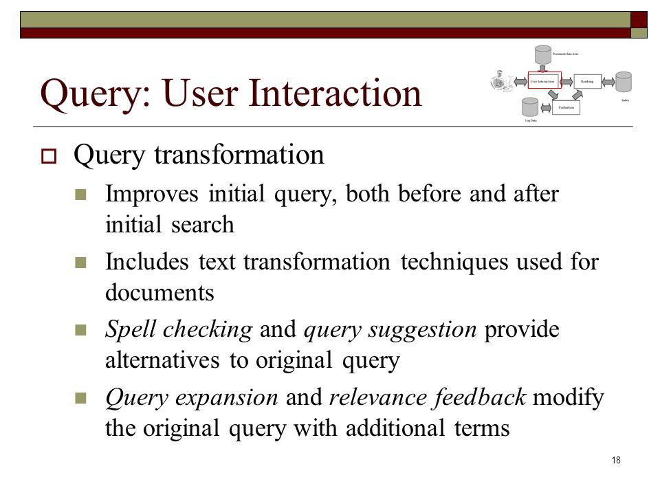 Query: User Interaction