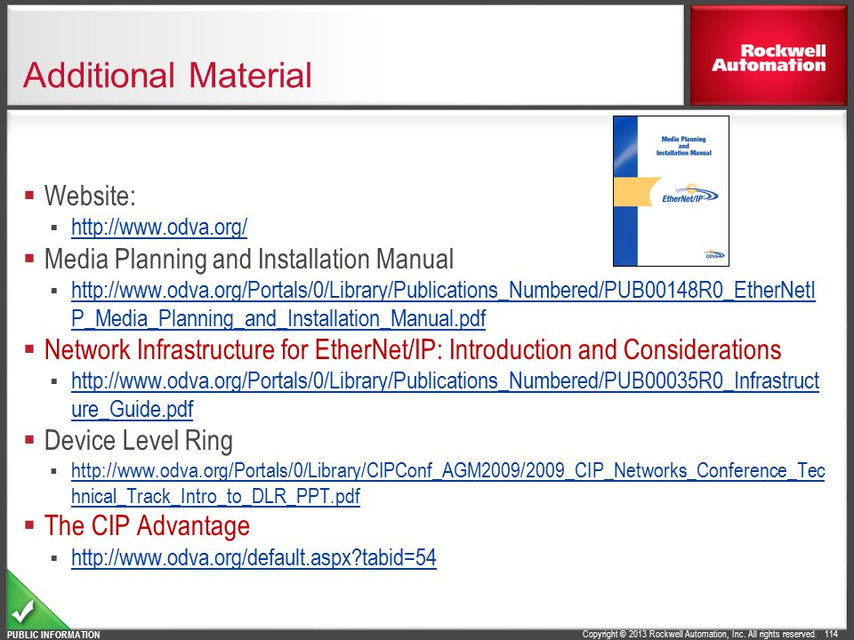 Additional Material Website: Media Planning and Installation Manual