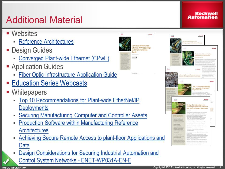 Additional Material Websites Design Guides Application Guides