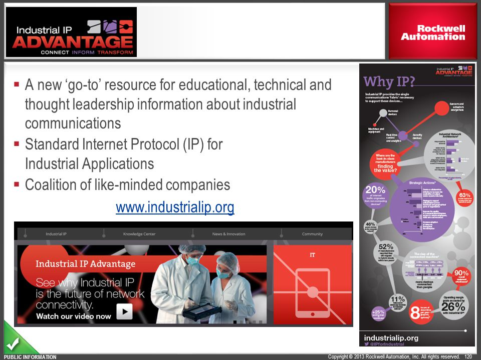 A new 'go-to' resource for educational, technical and thought leadership information about industrial communications