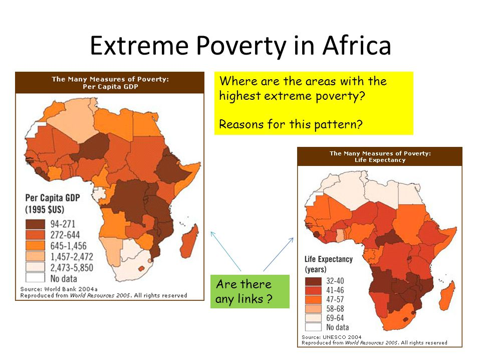 The Consequences Of The Development Gap Ppt Download - Extreme poverty map