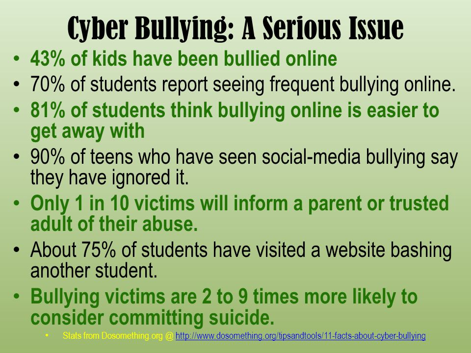 bullying as a social issue Bullying is not only a youth issue it's a workplace problem and when it happens in social services, client care can be compromised adults often view bullying primarily as a youth-oriented problem, but the same behavior can persist into adulthood and manifest in adult activities bullying can.