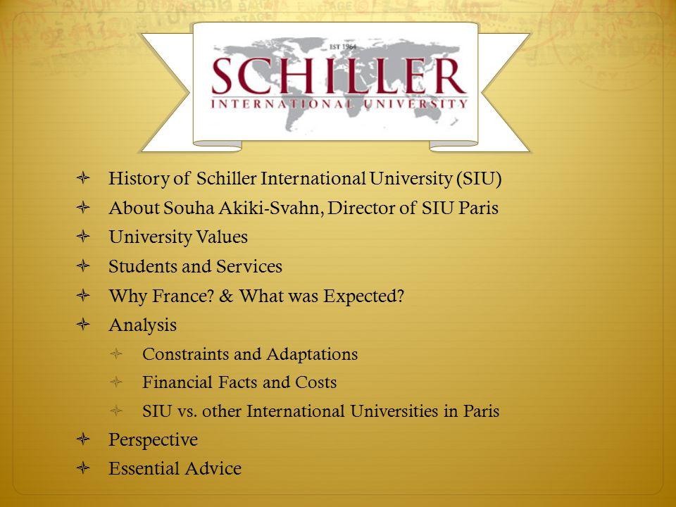 schiller international university reviews