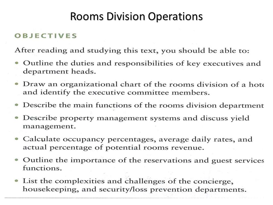 room division operations Assignment brief unit number and title unit 6 – rooms division operations management qualification pearson btec level 4/5 hnc/d diploma in hospitality management.
