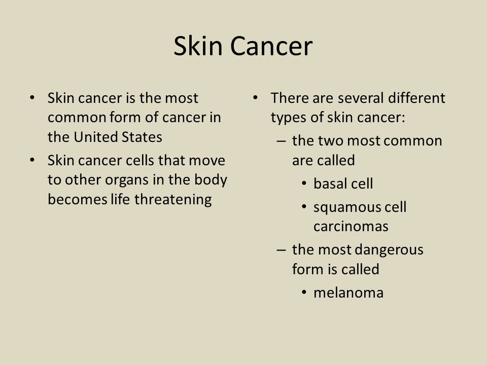 May is Skin Cancer Awareness Month - ppt video online download