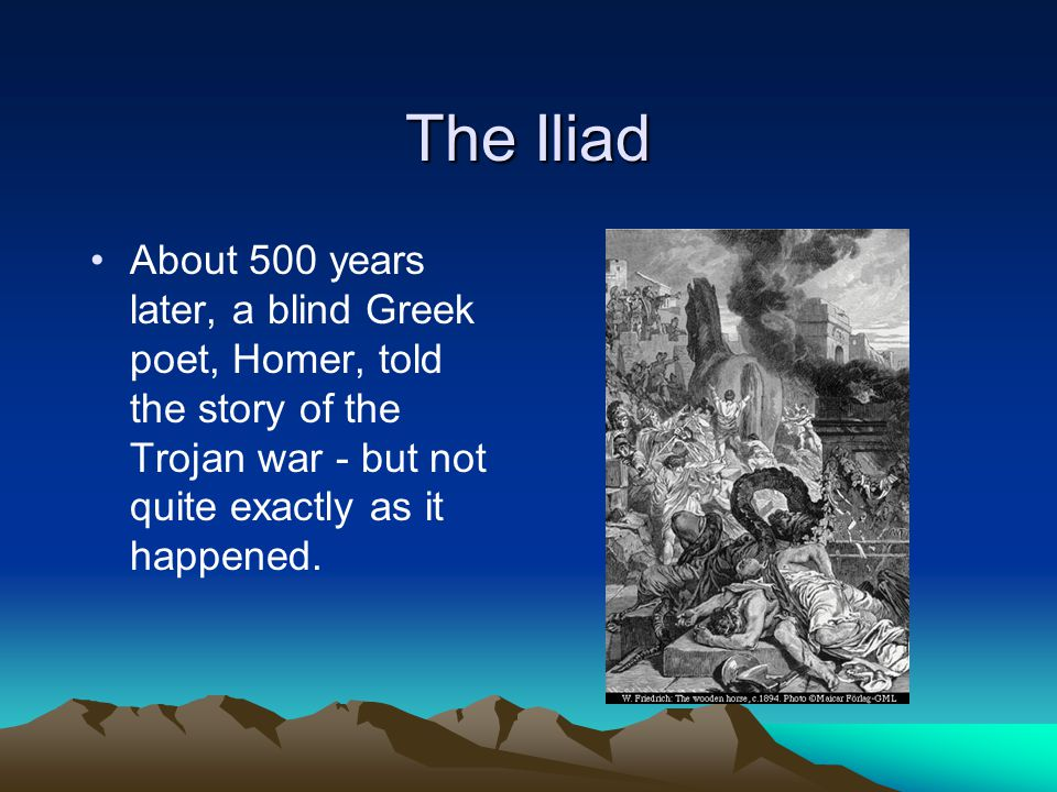the tragedy of the trojans in homers the iliad The iliad themes from litcharts | the creators of sparknotes  for homer, the trojan war was already an old story passed down  a gesture that shows the tragedy.