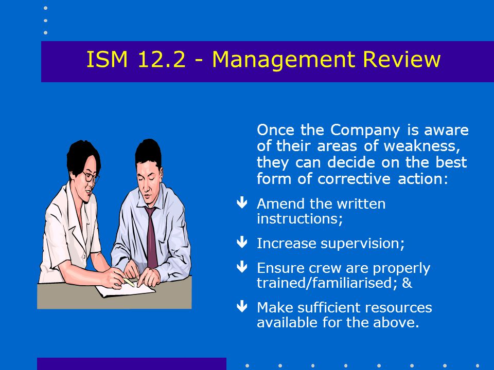 ISM 12.2 - Management Review