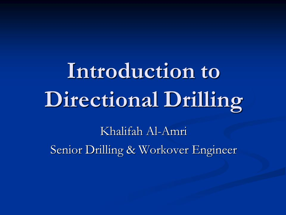 directional drilling service companies