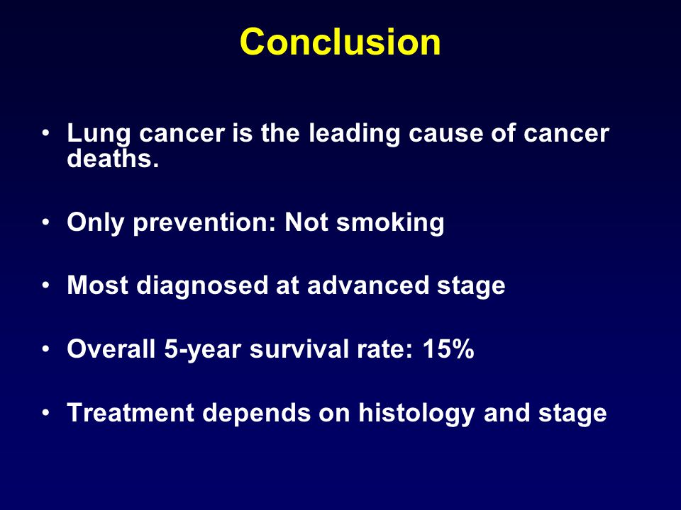 Adenocarcinoma Lung Stage  Natural Treatment
