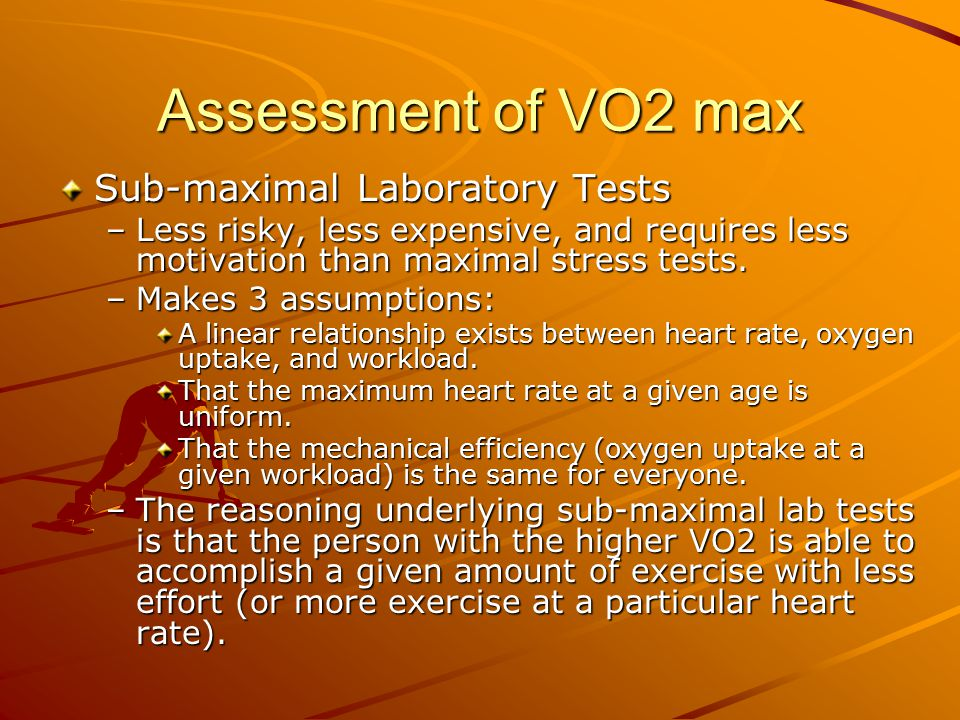 heart rate and vo2 linear relationship calculator