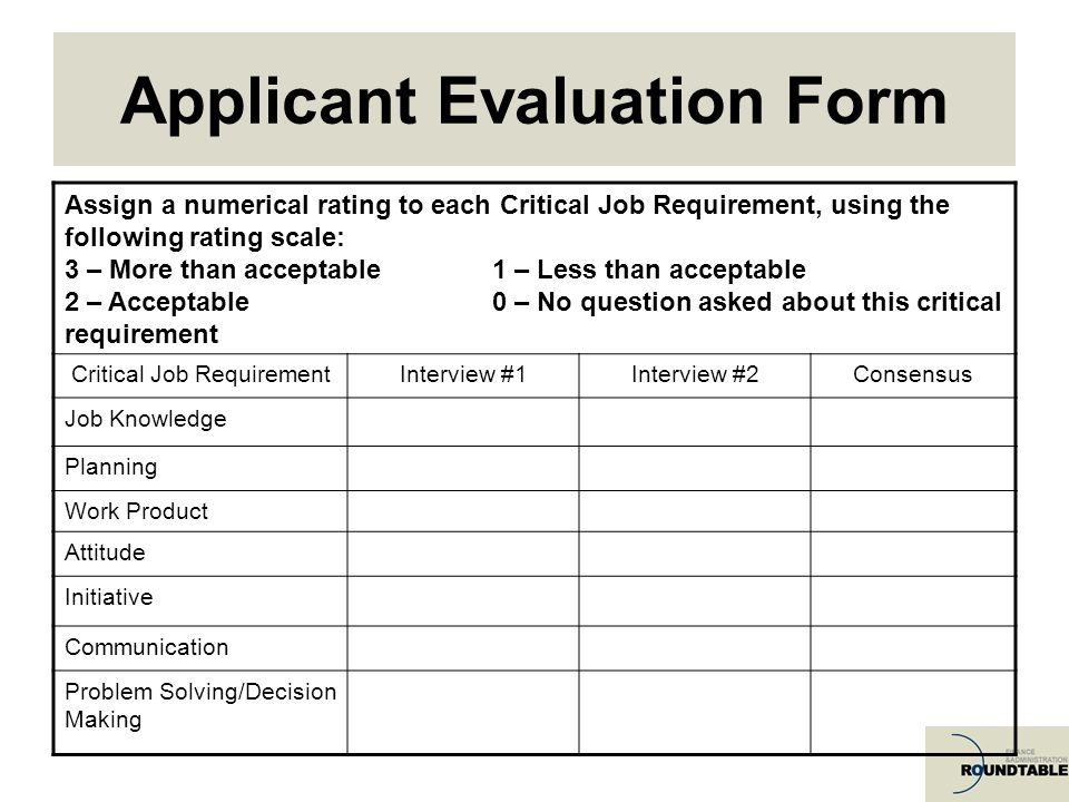 employee selection tool and the interview Here are some ways to improve these aspects of your hiring process  follow  up with candidates after each interview and stage of the hiring process,   periodically call or email employees that have left the organization on good terms   of hire metrics back to the selection tools and sourcing methods can.
